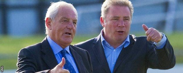 Walter Smith and Ally McCoist