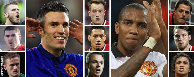 The 11 Manchester United players who are out of contract in the summer of 2016
