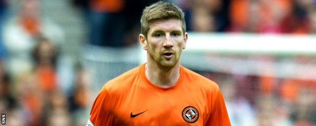 Mark Wilson in action for Dundee United