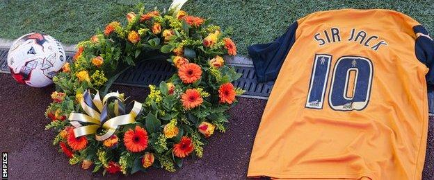 A tribute to Sir Jack Hayward at Molineux