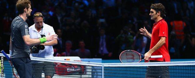 Andy Murray v Roger Federer