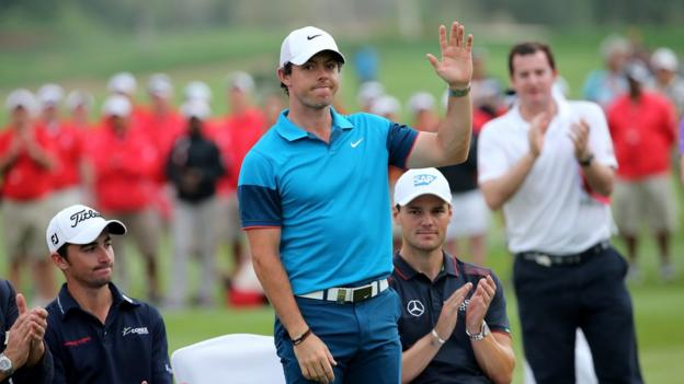 Rory McIlroy fired a closing 66 to finish second behind winner Gary Stal at the Abu Dhabi Championship