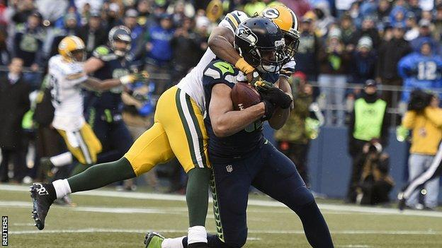 Seattle Seahawks book Super Bowl slot