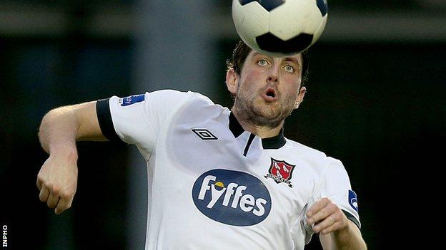 Ruaidhri Higgins has also played for Coventry City and Bohemians