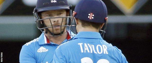 Ian Bell and James Taylor