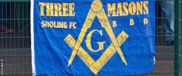 Three Masons flag