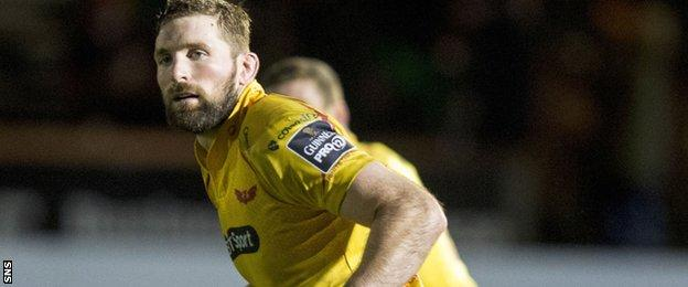 Barclay has been capped 43 times by Scotland