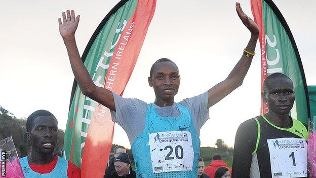 Japhet Korir won the 2013 World Cross Country