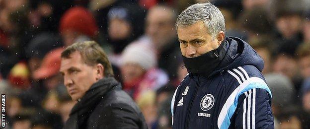 Jose Mourinho, Brendan Rodgers