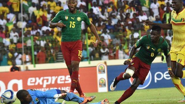 Ambroise Oyongo equalises