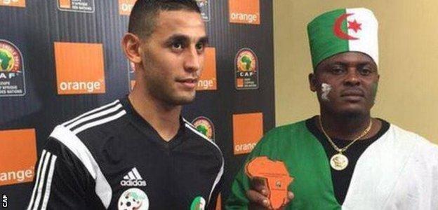Algeria presented