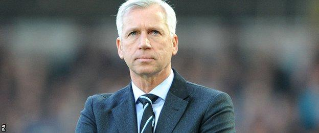 Alan Pardew, ex-Newcastle manager