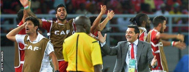 Equatorial Guinea are delighted to have earned their second point of the competition