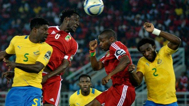 Congo beat Gabon 1-0 in Malabo