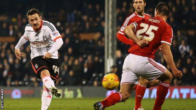 Ross McCormack scores for Fulham