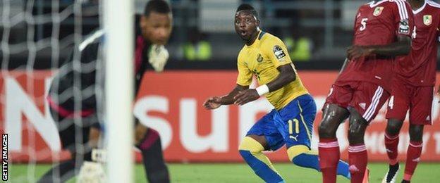 Levy Madinda of Gabon