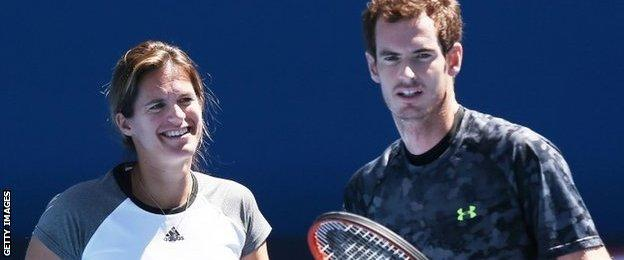 Amelie Mauresmo & Andy Murray