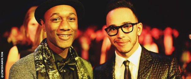 Lewis Hamilton, Aloe Blacc