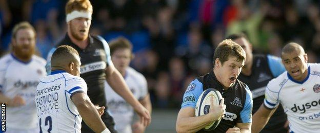 Glasgow hammered Bath 37-10 on the opening weekend of the European Champions Cup