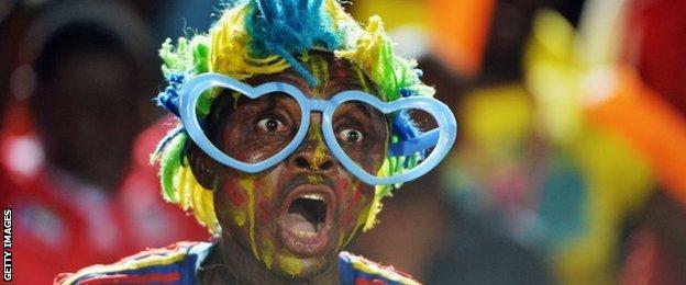 DR Congo fan