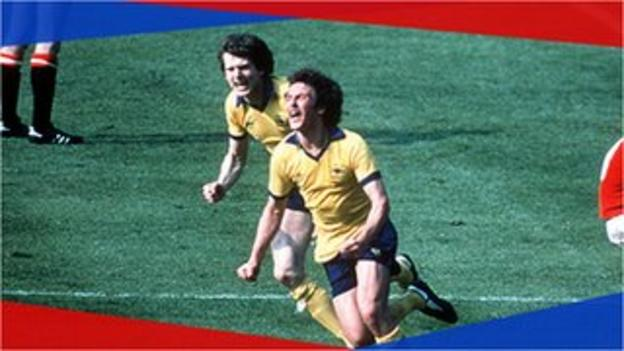 Arsenal survive scare to win 1979 cup