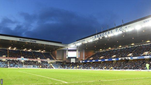 Ibrox Stadium will no longer be used as security over further loans