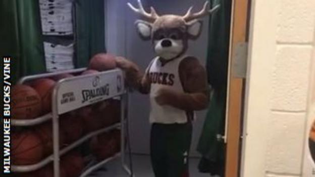 Milwaukee Bucks mascot