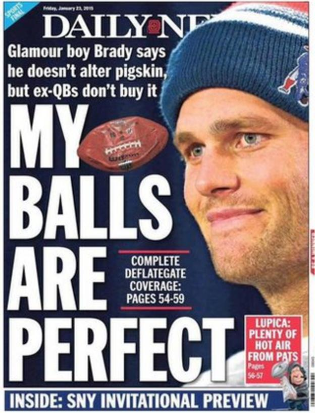 Why #DeflateGate matters: The NFL's deflated balls explained - BBC ...