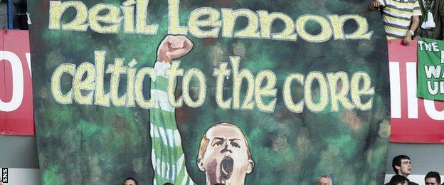 Neil Lennon banner
