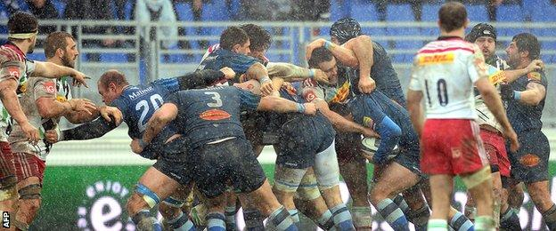 Castres and Harlequins