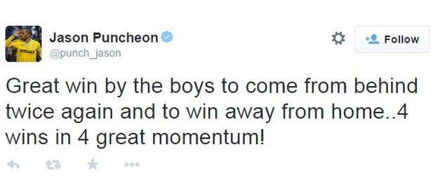 Crystal Palace midfielder Jason Puncheon