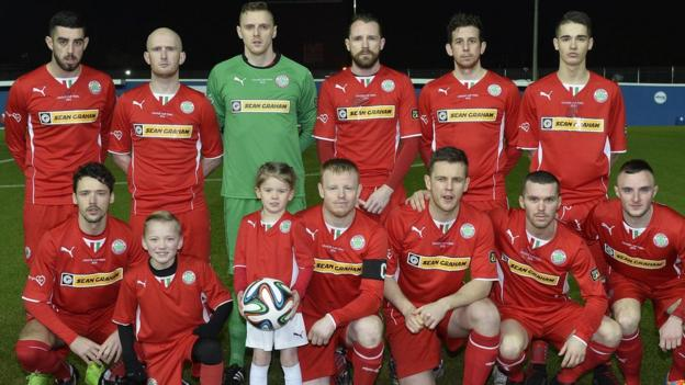 Cliftonville went into the showpiece match hoping to win the League Cup for a third consecutive season