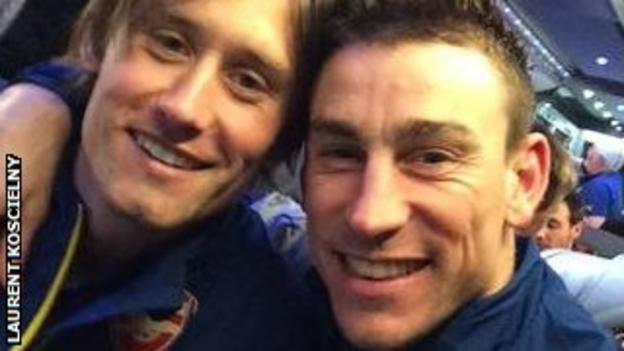 Tomas Rosicky (left) and Laurent Koscielny