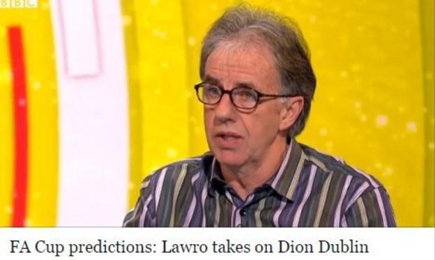 Lawro's predictions