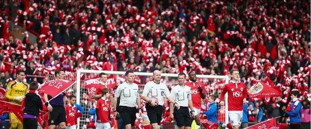 Bristol City v West Ham