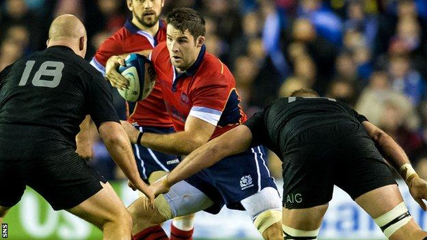 Scotland against New Zealand