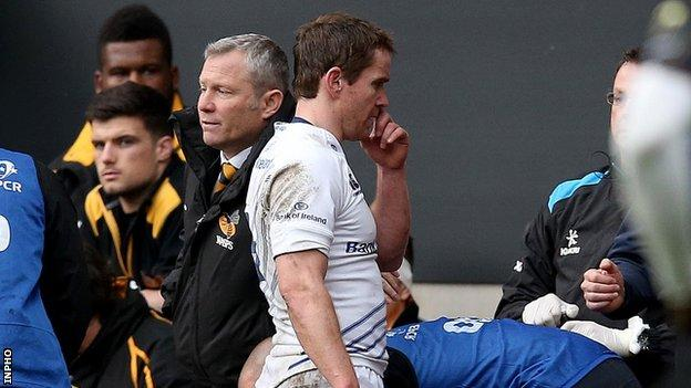 Eoin Reddan sustained medial ligament damage in Saturday's European game