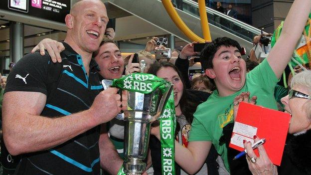 Six Nations winners Ireland 2014