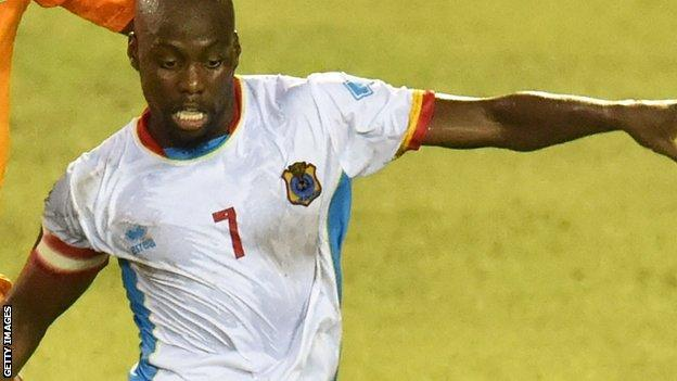DR Congo captain Youssouf Mulumbu