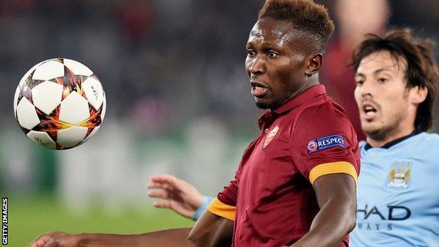 Roma defender Mapou Yanga-Mbiwa