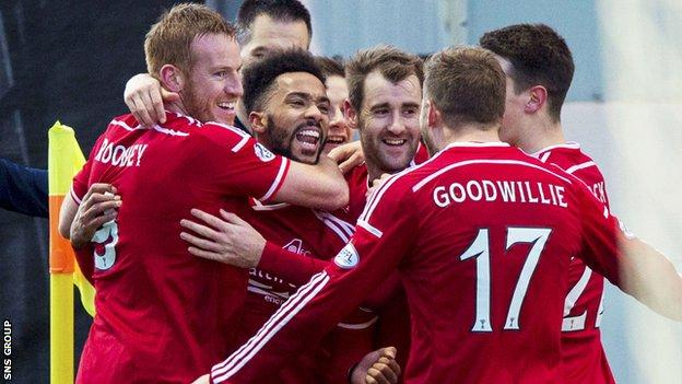 Aberdeen meet Dundee United in Saturday's League Cup semi-final