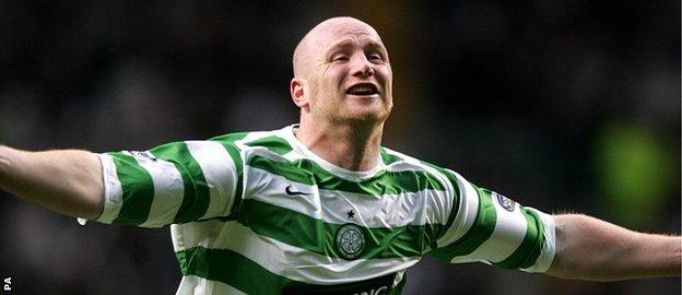 John Hartson is still revered at Celtic where he played for five seasons