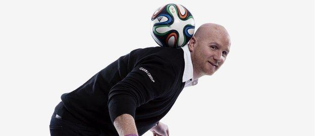 John Hartson is now a respected football pundit for the BBC