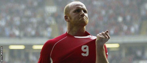 John Hartson won 51 caps for Wales and scored 14 goals