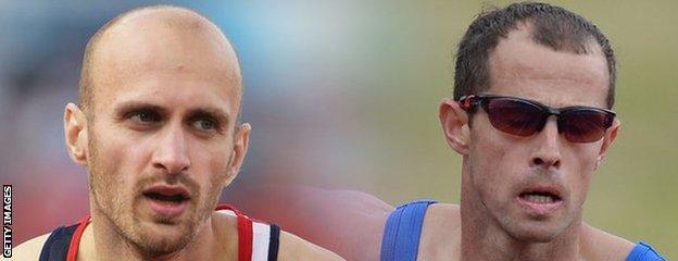 Gareth Warburton and Rhys Williams
