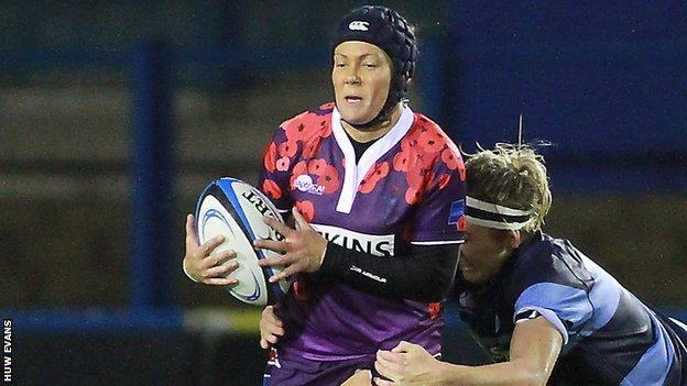 Centre Gemma Rowland's addition means there are six uncapped players in the Wales Women's squad