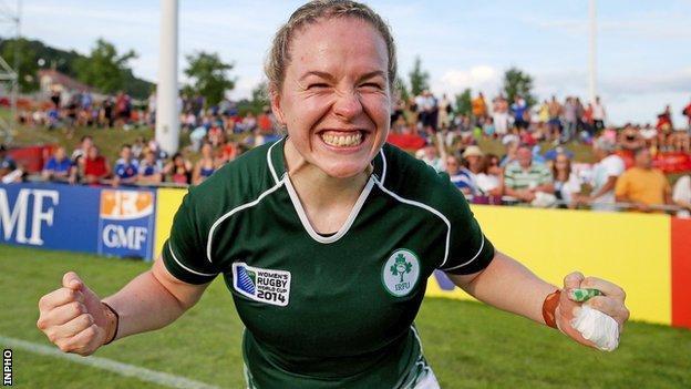 Ireland captain Niamh Briggs