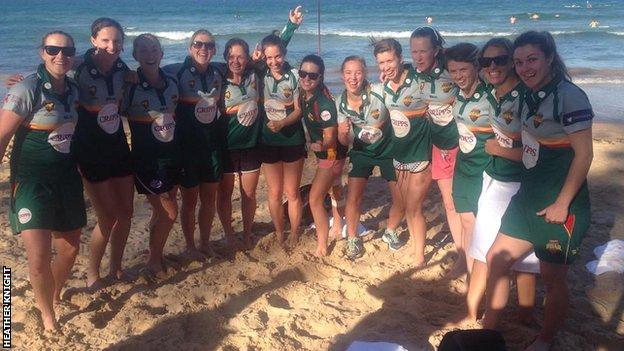 The Tasmanian Roar squad