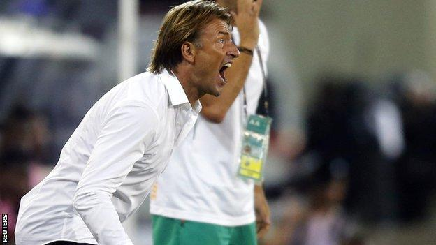 Ivory Coast coach Herve Renard