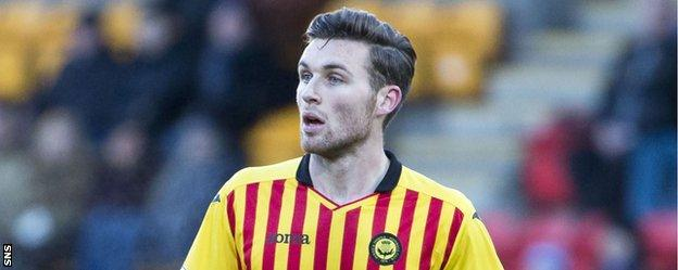 Partick Thistle right-back Stephen O'Donnell